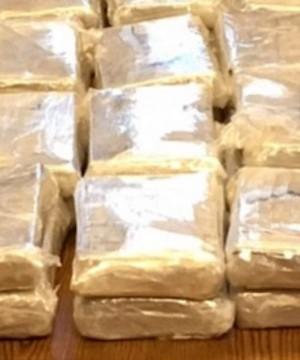 Police in California arrested a Canadian woman allegedly carrying 38 kilograms of heroin.