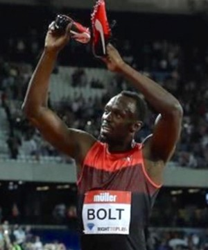 Whatever controversy is raging in the Olympic world there's one constant: Usain Bolt's bravado and self-confidence.
