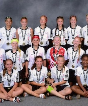 A Kelowna youth soccer team came home with bronze medals from a 180-team international tournament in Florida.