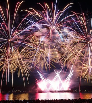 Celebration of Light fireworks finale to attract huge crowds in Vancouver tonight.