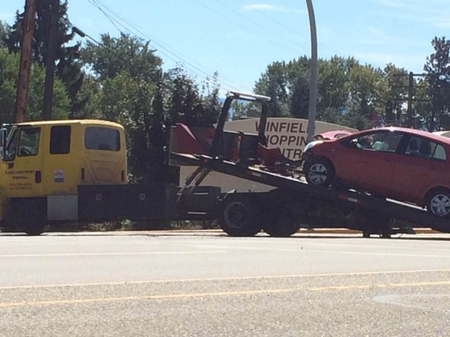 Enderby Car Crash