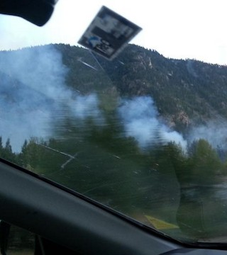The Wolfe Creek fire east of Princeton is 75 per cent contained Sunday morning.