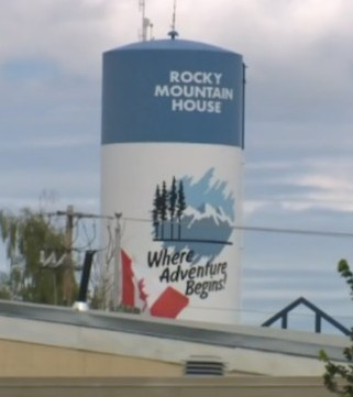 An iconic water tower overlooking a scenic town in Alberta is headed for the scrap heap because of a construction mistake.
