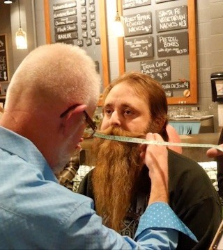 The Okanagan Beard Festival's second year kicked off in Penticton at Cannery Brewing Monday evening.