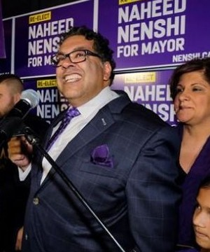 Calgary Mayor Naheed Nenshi has handily won a third term after a bitter and divisive campaign during which his at-times prickly personality was a focus.