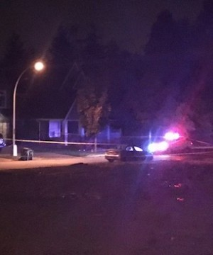 RCMP are investigating a double shooting in South Surrey.