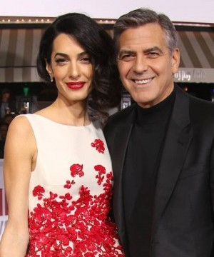 George Clooney's mother has revealed the actor and Amal Clooney will welcome a boy and girl later this year.