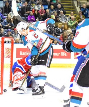 The Rockets hit double digits for the first time since the final game of the regular season a year ago, pounding on the lowly Edmonton Oil Kings 10-1.