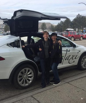 Current Taxi is BC's first all-electric taxi fleet owned and operated in Kelowna.