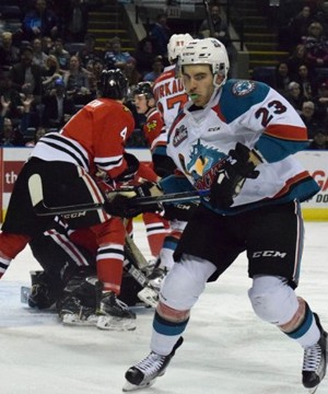 The Kelowna Rockets made sure there would be no overtime when they faced the Spokane Chiefs Sunday.