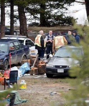 A remote community in British Columbia's Interior is in mourning after police found four people dead in a home.