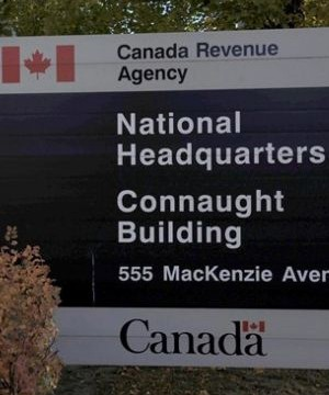 A man says he was baffled when a letter from the Canada Revenue Agency arrived at his door - addressed to his estate rather than to the very much alive 64-year-old.