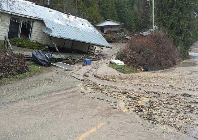 Salmon Arm Toyota >> Landslide hits homes - Salmon Arm News - Castanet.net