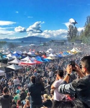 Health officials in Vancouver report 25 people were taken to hospital emergency departments during the city's 4/20 marijuana celebrations on Thursday.
