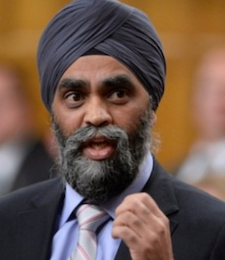 Defence Minister Harjit Sajjan was not the architect of a major battle as he earlier claimed.