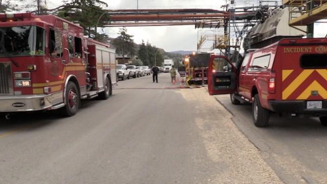 Fire At Tolko Industries Kelowna News
