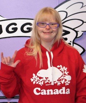 Angel Magnussen, a Port Alberni woman, has been named Canada's Nicest Person.