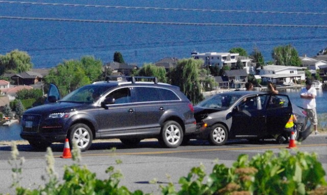 Three Cars One Accident West Kelowna News