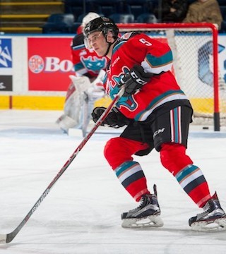 The Kelowna Rockets made a minor move prior to their afternoon game in Calgary.
