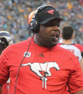 The Lions have hired Stamp's former defensive co-ordiator DeVone Claybrooks as the new head coach.