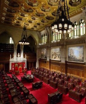 Four new senators appointed, filling all seats for first time in eight years.