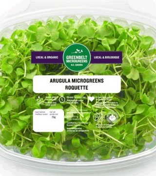 A recall warning has been issued for numerous salad-type greens produced by Ontario-based Greenbelt Microgreens.