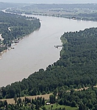 Residents in low-lying areas along the Fraser River are preparing to evacuate if need be
