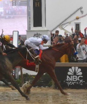B.C. trainer behind winning horse that's won two legs of Triple Crown.