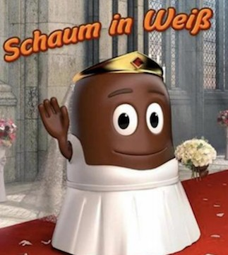 A German company has sparked a chocolate-covered controversy.