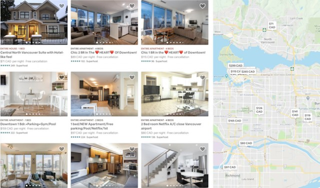 how to download photos from airbnb listing
