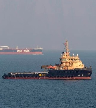 Iran says missiles struck oil tanker off coast of Saudi Arabia.