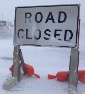 A first, early blast of winter has knocked out power and made travel nearly impossible in many parts of southern Manitoba.