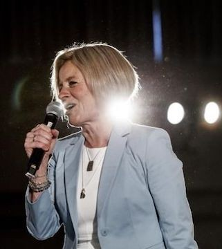 Alberta Premier Rachel Notley has called an election for April 16.