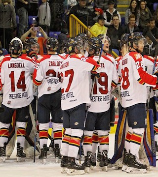Prince George was crowned kings of the league after beating the Vipers 3-1 at Kal Tire Place.