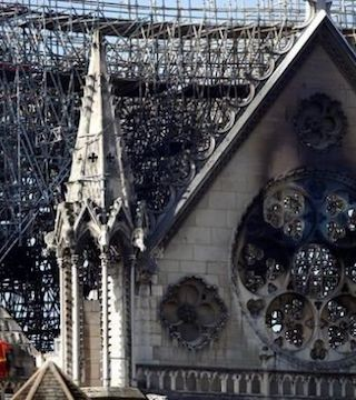 Architects and construction workers have now stabilized the damaged structure of Notre Dame cathedral.