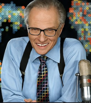 Larry King has been married eight times to seven different women and has five children.