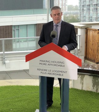 Federal government invests in an innovative financing model for affordable housing projects.