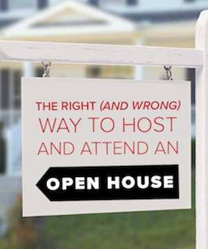 Tips for buyers and sellers on to take advantages of an open house