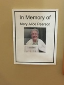 IN LOVING MEMORY: PEARSON, Mary Alice
