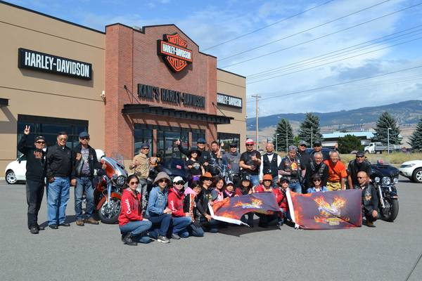 Kane's Harley-Davidson® in Kelowna welcomed visitors from Taiwan's