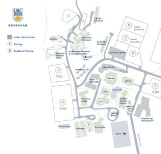 Ubc Okanagan Map Ubco Map | compressportnederland