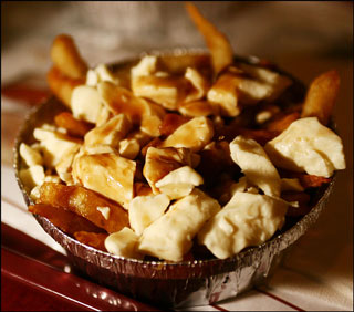 Poutine is a fun food.  Read, 'What  do chef's eat for lunch?' for more tips. (Photo: Contributed)