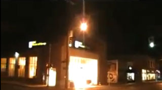 G20 Protesters Firebomb Bank In Canada.  (Photo:  YouTube)