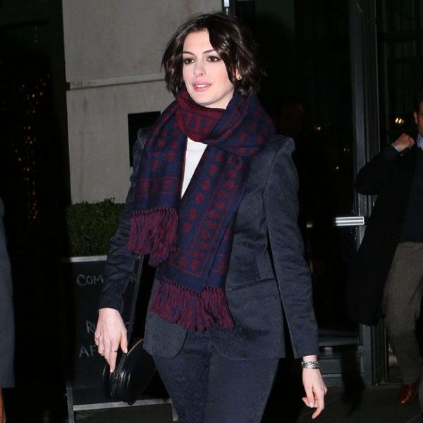 Anne Hathaway College: January 22nd, 2015