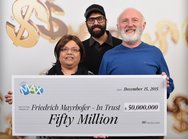 Winning Ticket Purchased for $60-million Lotto Max Jackpot