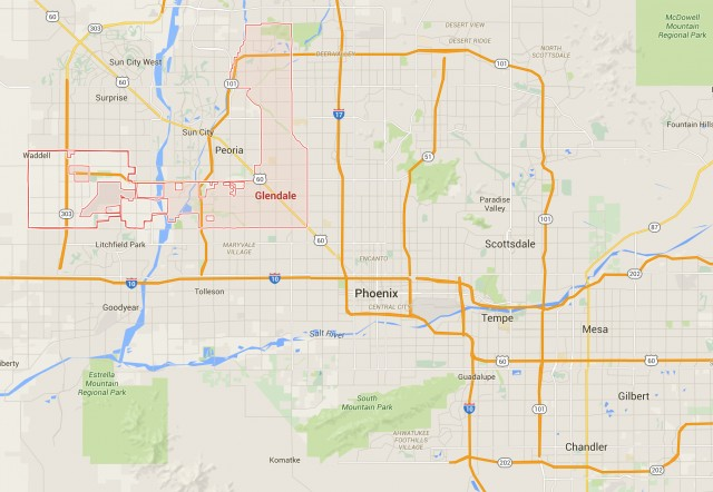 Map Of Arizona Freeway Shootings.Freeway Shooter Arrested World News Castanet Net