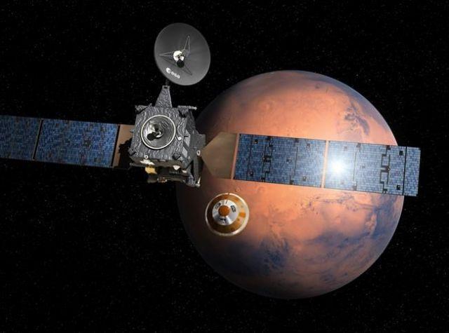 European Probe Will Attempt To Land On Mars