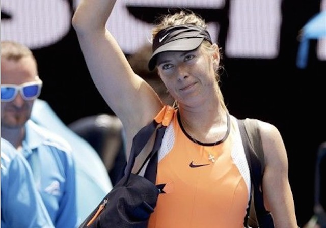 Sharapova's 2-yr ban for doping reduced by 9 months