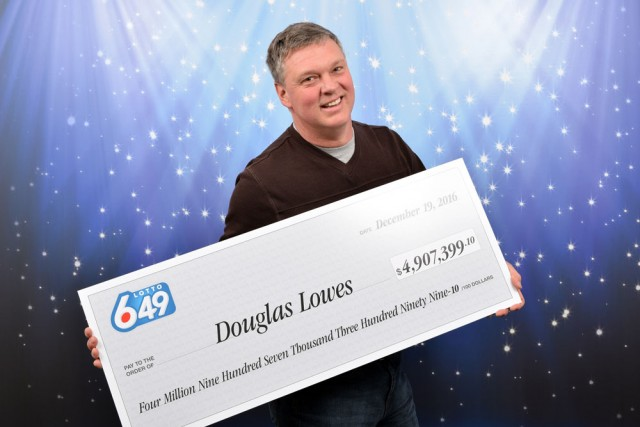 Did you buy a ticket in Barrie for yesterday's Lotto 6/49 draw?