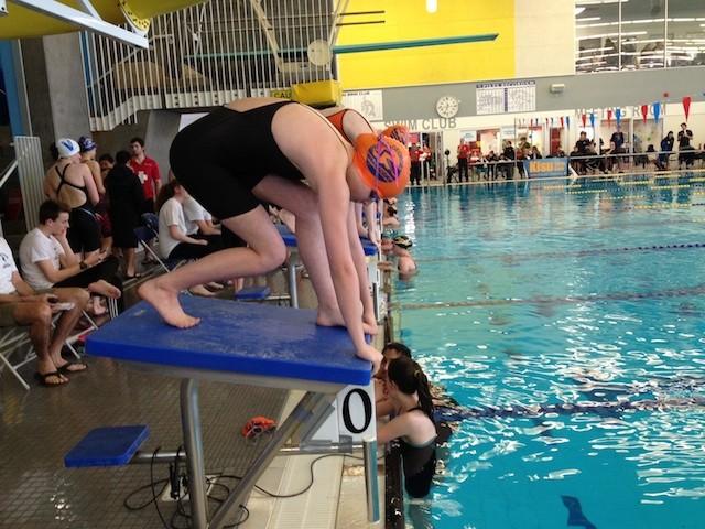 Pool hosts big swim meet penticton news - West vancouver swimming pool schedule ...